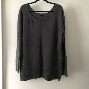 Torrid Distressed Sweater